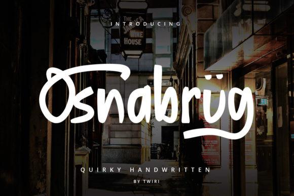 Osnabrug Font