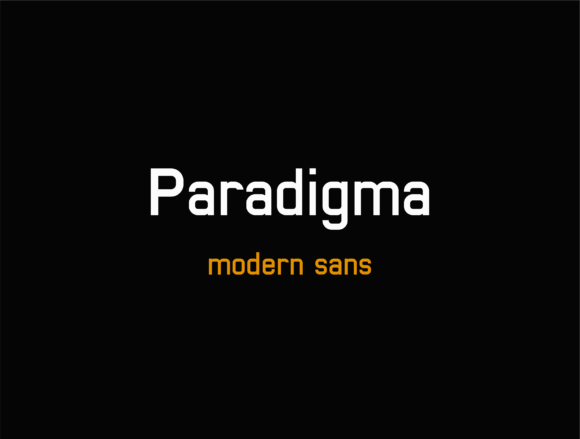 Paradigma Font