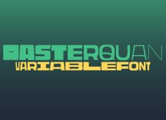 Rasterquan Font