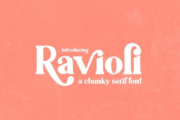 Ravioli Font