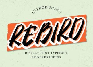 Rebird Font