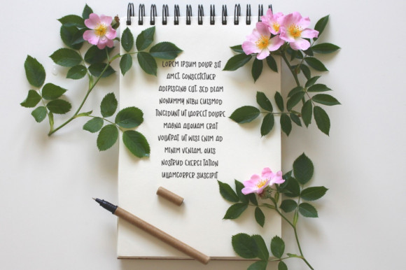 Reminder Notes Font