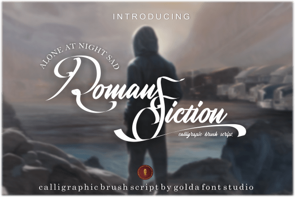 Roman Fiction Font
