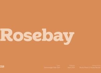 Rosebay Font