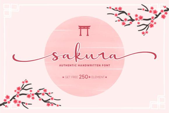 Sakura Font