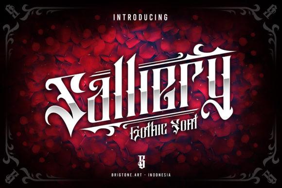 Salliery Font