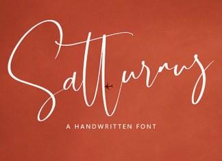 Satturnus Font