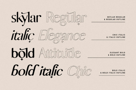 Skylar Font
