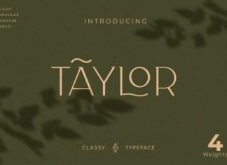 Taylor Font