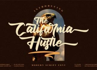 The California Hustle Font