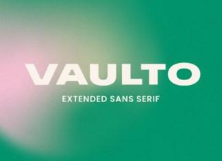 Vaulto Black Font