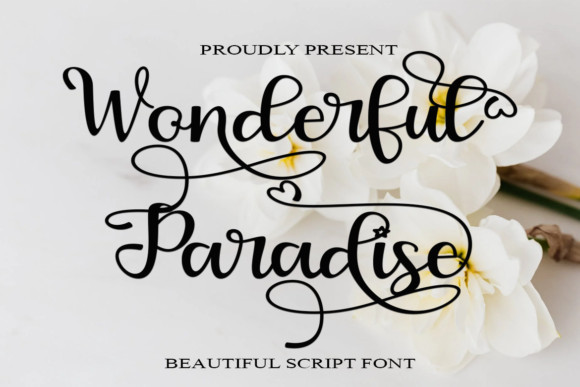 Wonderful Paradise Font