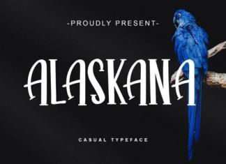 Alaskana Font