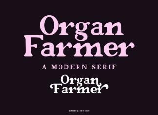 Organ Farmer Font