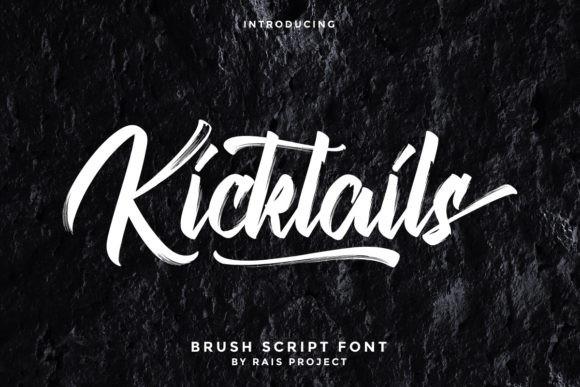 Kicktails Font