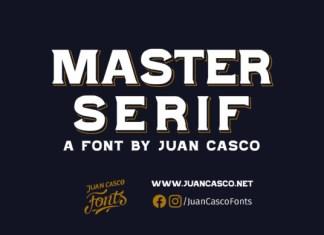 Master Serif Font