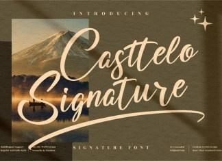 Casttelo Signature Font