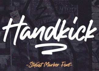 Handkick Font