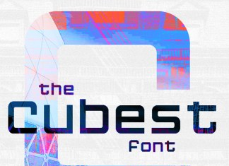 Cubest Font