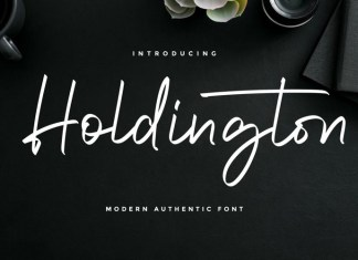 Holdington Font