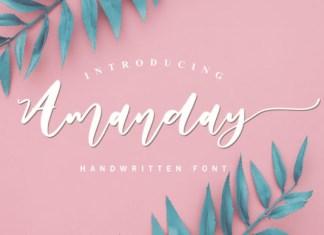 Amanday Font