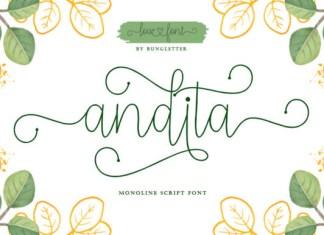 Andita Font