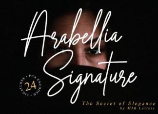 Arabellia Signature Font
