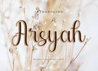 Arsyah Font