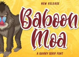 Baboon Moa Font