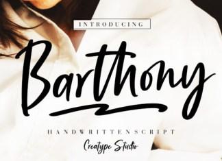 Barthony Font