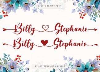 Billy Stephanie Font
