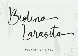 Biolina Larasita Font
