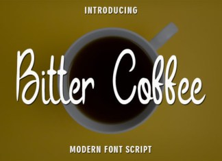 Bitter Coffee Font