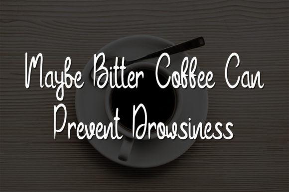 Bitter Coffee Font