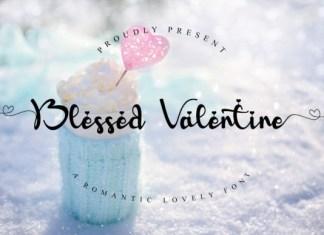Blessed Valentine Font