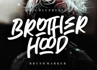 Brotherhood Font