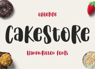 Cake Store Font