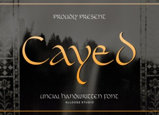 Cayed Font
