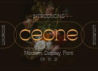 Ceone Font