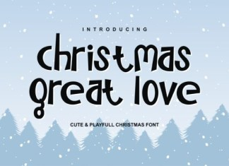 Christmas Great Love Font