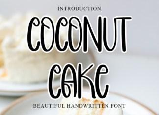 Coconut Cake Font