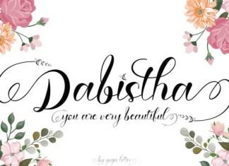 Dabistha Font