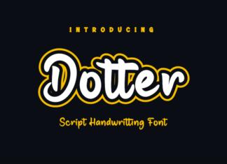 Dotter Font