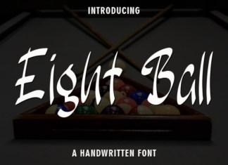 Eight Ball Font