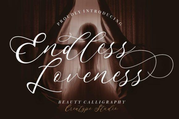 Endless Loveness Font
