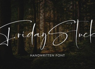 Friday Stuck Font