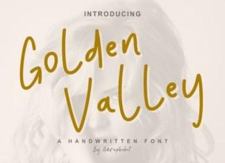 Golden Valley Font
