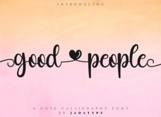 Good People Font