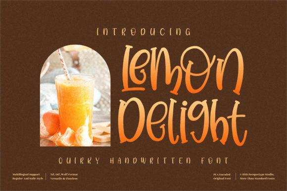 Lemon Delight Font