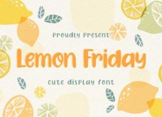 Lemon Friday Font